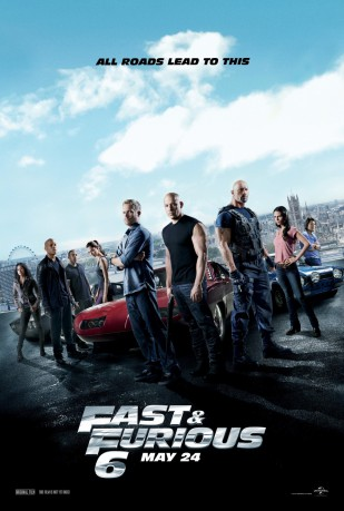 cover Fast & Furious 6
