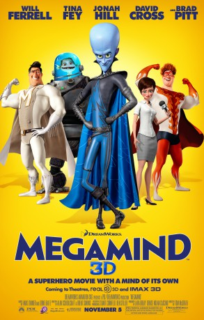 cover Megamind