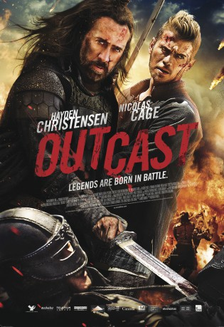 cover Outcast - Die letzten Tempelritter