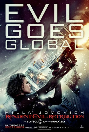 cover Resident Evil: Retribution